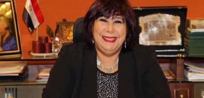 وزيرة الثقافة توافق على إصدار موسوعات الأدباء والمبدعين