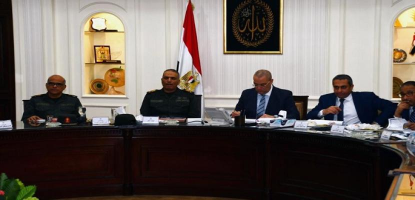 بالصور..وزير الإسكان ورئيس الهيئة الهندسية للقوات المسلحة يتابعان موقف تنفيذ المشروعات المشتركة