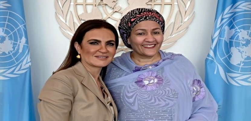 سحر نصر تبحث مع الأمم المتحدة دعم مشروعات تنموية بقيمة 1.2 مليار دولار حتى 2022