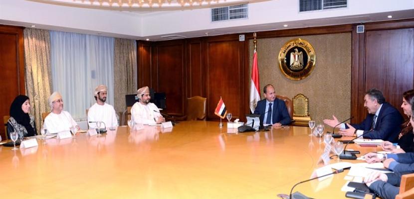 نصار: نسعى لتعزيز الشراكة التجارية والاستثمارية بين مصر وسلطنة عمان خلال المرحلة المقبلة