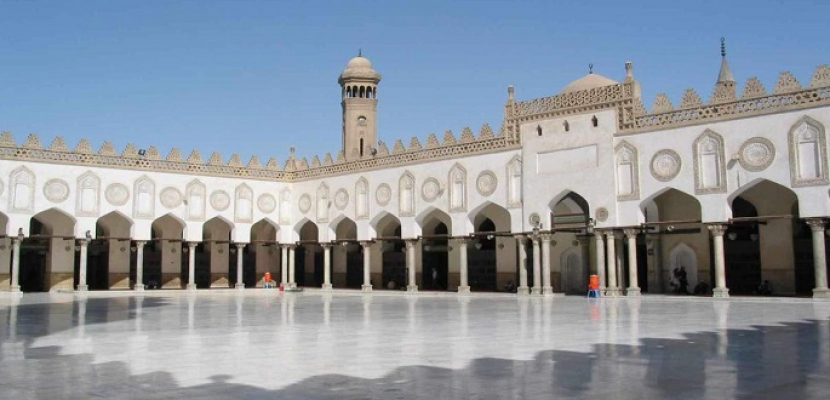 بدء احتفالية الجامع الأزهر بمناسبة مرور 1079 عاما هجريا على تأسيسه