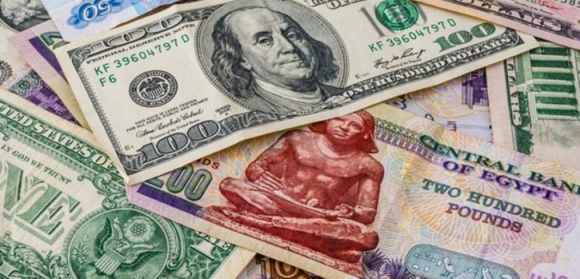 استقرار سعر الدولار أمام الجنيه المصري خلال تعاملات اليوم في البنوك