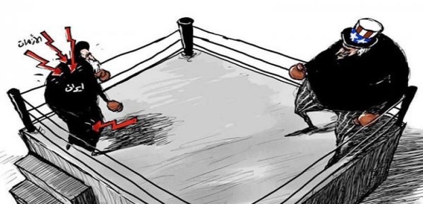 الصراع الأمريكي  الإيراني