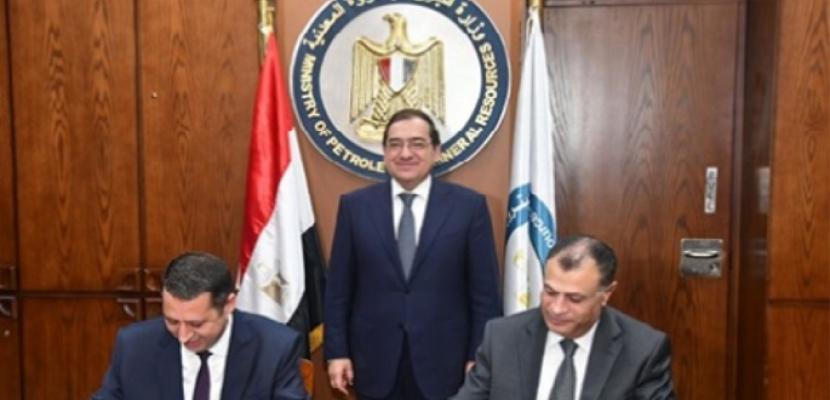 """الملا يشهد توقيع اتفاقية مشروع تطوير شركة """"بدر الدين"""" للبترول"""