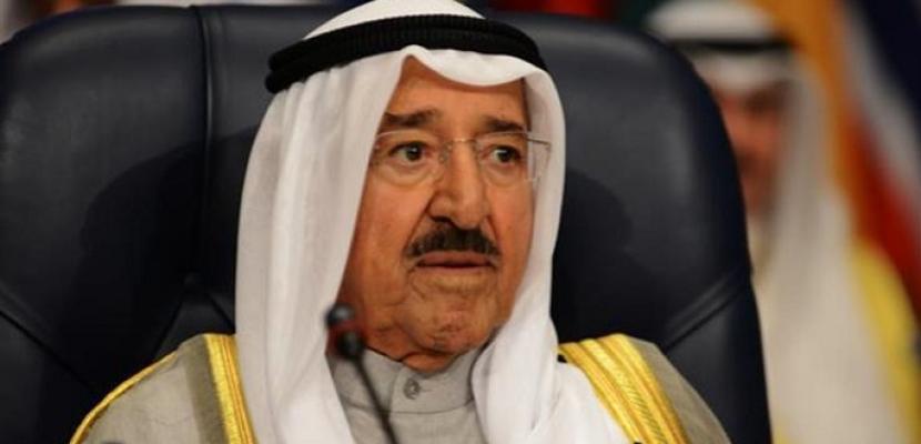 أمير الكويت: نؤيد إجراءات السعودية لمواجهة الإرهاب