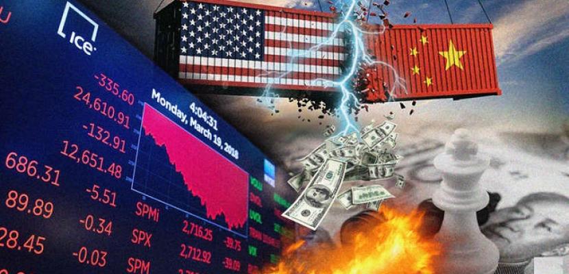 التوترات التجارية وتداعياتها السلبية على معدل نمو الاقتصاد العالمى