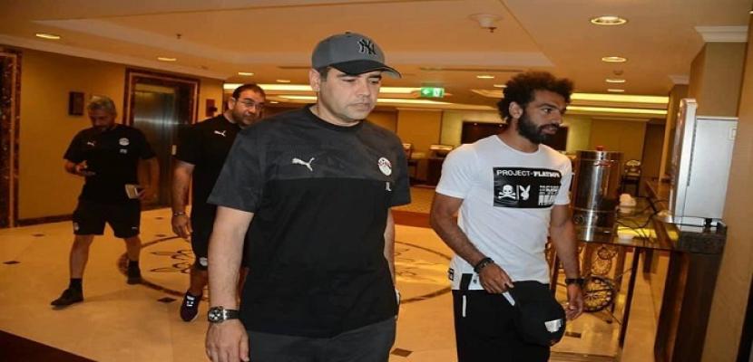 بالصور.. محمد صلاح ينضم لمعسكر المنتخب استعدادًا لأمم أفريقيا