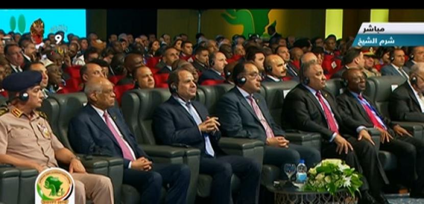 الرئيس السيسي يشهد افتتاح أعمال المنتدى الإفريقي الأول لمكافحة الفساد بشرم الشيخ