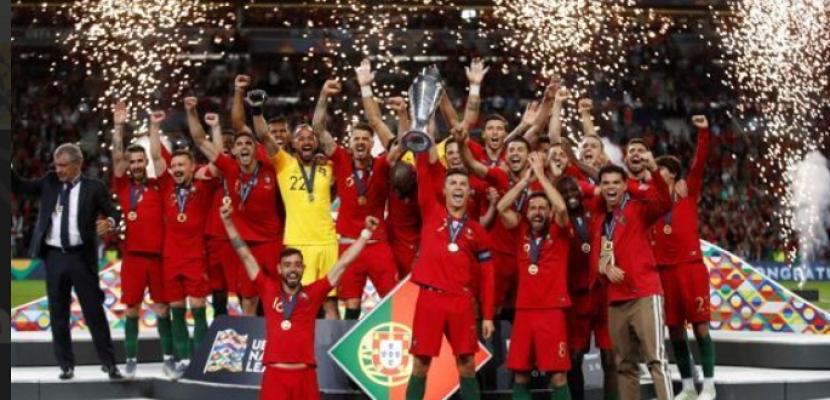 البرتغال تهزم هولندا وتحرز أول ألقاب دوري أمم أوروبا
