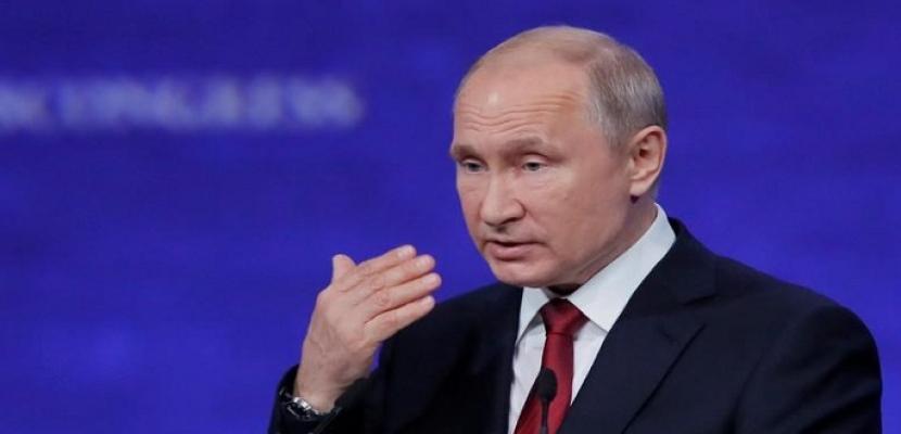 بوتين يأمل أن تعيد محادثات فنزويلا الوضع لطبيعته