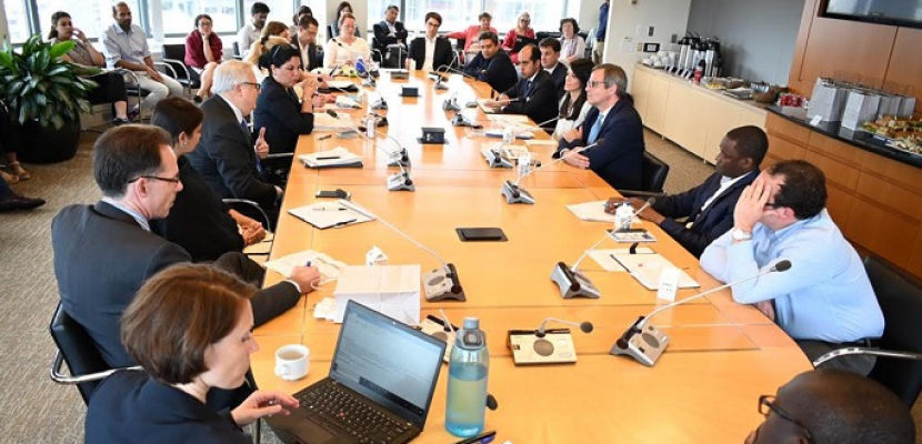 وزيرة السياحة تشارك في جلسة نقاشية تنظمها مؤسسة التمويل الدولية مع ممثلى البنك الدولى فى واشنطن