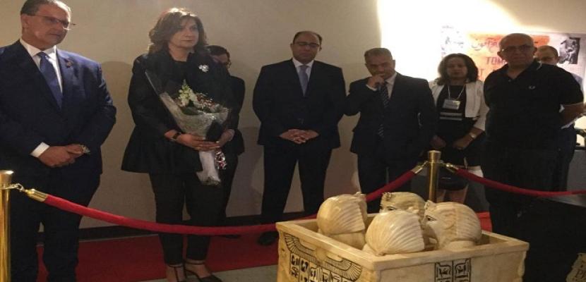وزيرة الهجرة تزور المتحف التعليمي المصري بمدينة مسيساجا الكندية