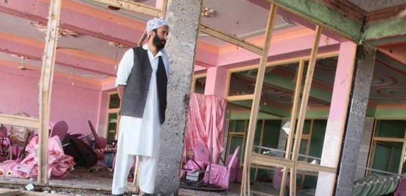 مقتل وإصابة 45 شخصا في هجوم انتحاري نفذه قاصر خلال حفل زفاف بأفغانستان