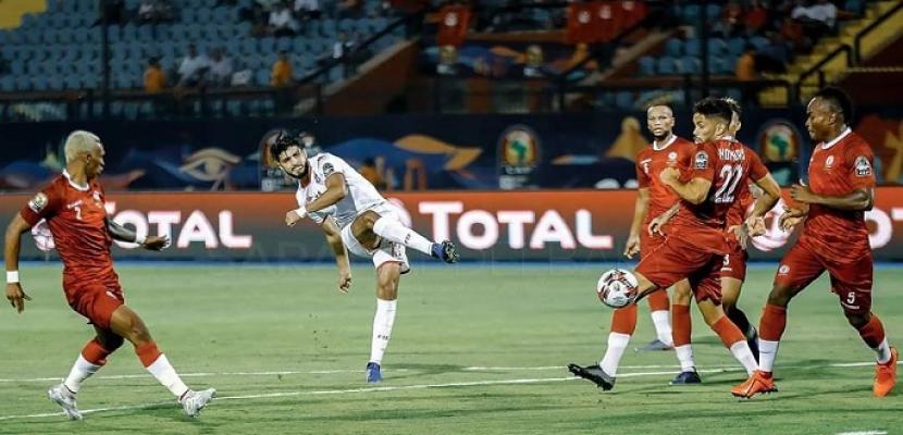 منتخب تونس يتأهل لنصف نهائي أمم إفريقيا بفوزه على مدغشقر بثلاثية نظيفة