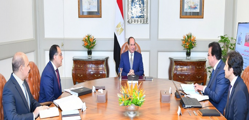 الرئيس السيسي يوجه بالاستعداد المتكامل للعام الجامعي الجديد