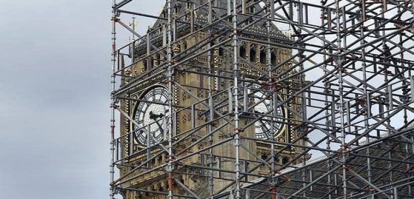 أعمال الترميم تسكت جرس (بيج بن) في ذكرى مرور 160 عاما على قرعه