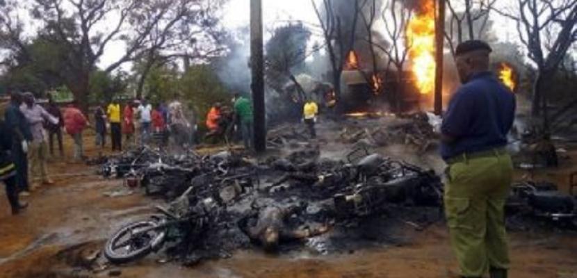ارتفاع عدد ضحايا حادث انفجار ناقلة الوقود في تنزانيا إلى 82 قتيلا