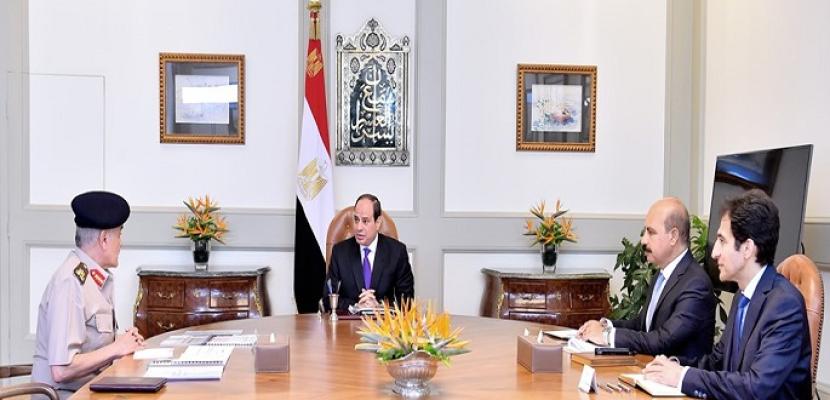 الرئيس السيسي يوجه باستمرار جهود تفعيل صندوق تكريم الشهداء