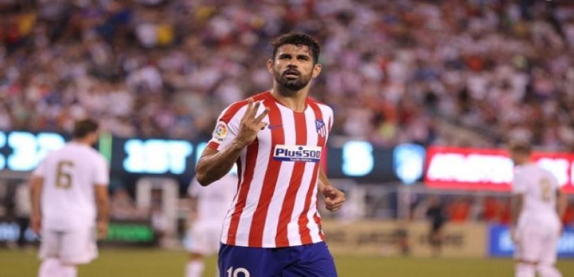 إصابة كوستا مهاجم أتليتيكو مدريد قبل انطلاق الدوري الإسباني