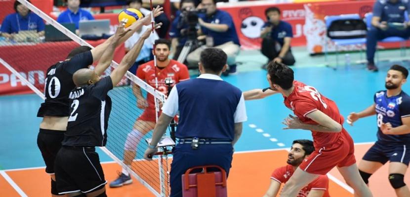 خسارة منتخب مصر للطائرة أمام إيطاليا فى سادس مواجهات مونديال اليابان