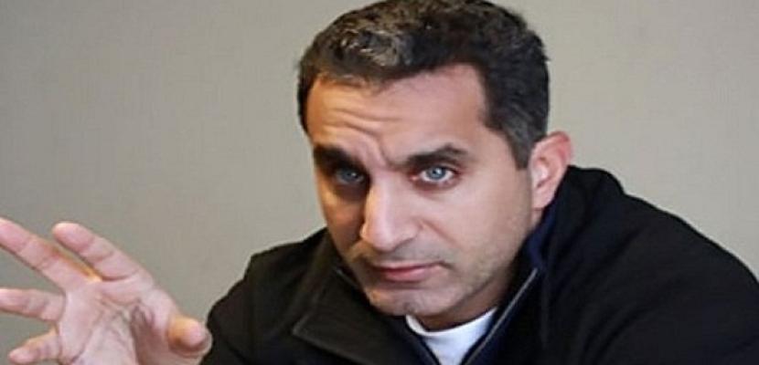 عودة باسم يوسف إلى القاهرة بعد زيارة للولايات المتحدة