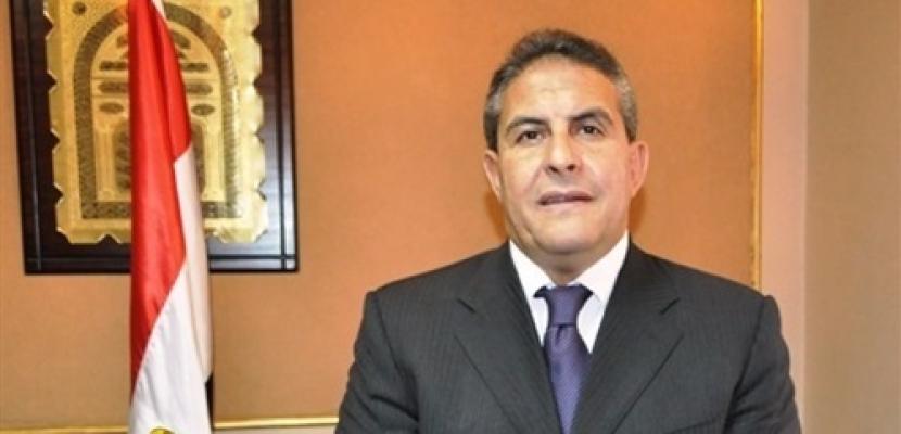 ابو زيد:ارفض خلط الرياضة بالسياسة ودماء الشهداء اعادت الاستقرار