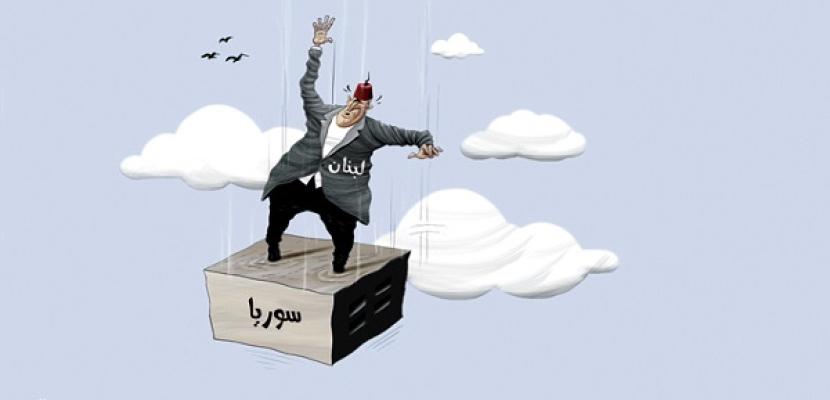 لبنان في مهب الريح فى الأزمة السورية !!