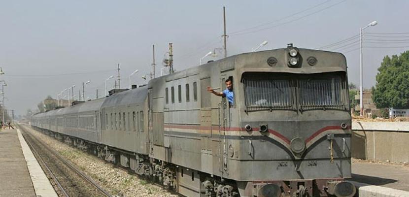 اسئناف حركة القطارات للوجه القبلي الأربعاء