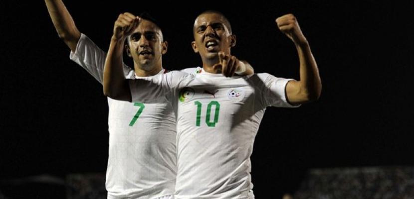 الجزائر يتأهل بصعوبة لمونديال البرازيل بعد فوزه على بوركينا فاسو 1 / 0
