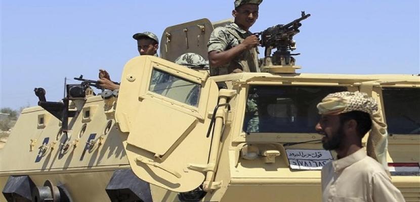 مقتل 4 عناصر جهادية وضبط 29 آخرين فى حملة أمنية برفح