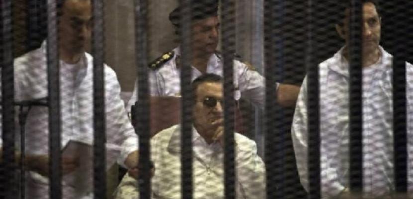 """إحالة مبارك ونجليه وآخرين للجنايات في قضية """"قصور الرئاسة"""""""
