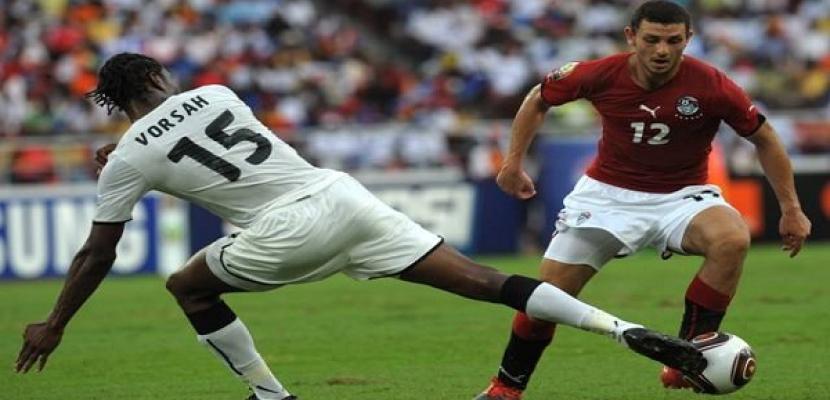 منتخب مصر يتغلب على غانا 2-1 ويخسر التأهل للمونديال