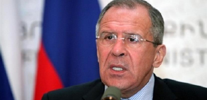 سيرجى لافروف: روسيا والنرويج ستشاركان فى سحب الكيماوى من سوريا