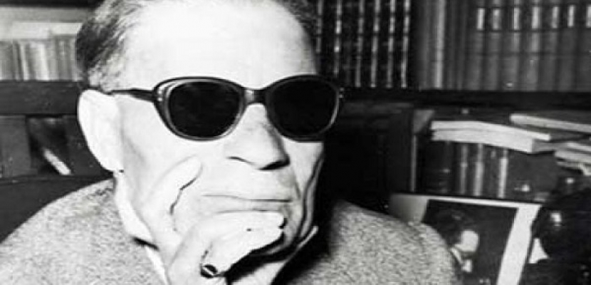 طه حسين شخصية الدورة الـ45 لمعرض القاهرة الدولي للكتاب