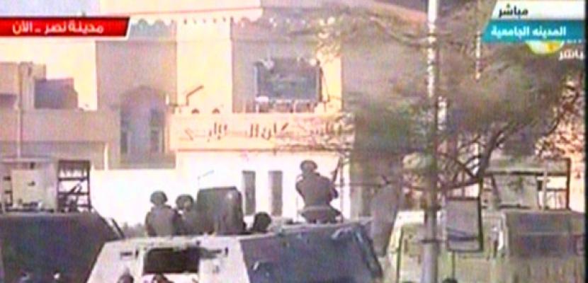 مراسل النيل:طلاب الاخوان يلقون الحجارة من داخل المدينة الجامعية بالأزهر  على الأمن