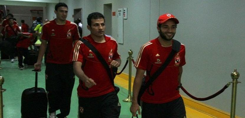 بعثة الأهلي في المغرب استعدادا للمشاركة في بطولة كأس العالم للأندية