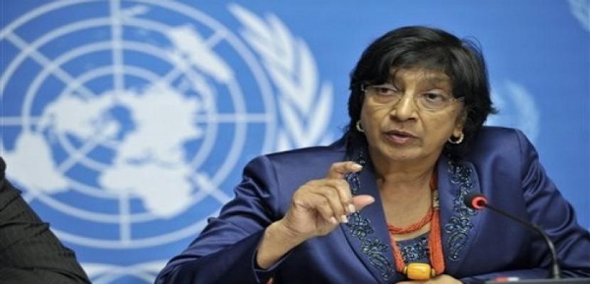 """نافي بيلاي: أدلة تشير إلى """"مسئولية"""" للرئيس السوري في جرائم حرب"""