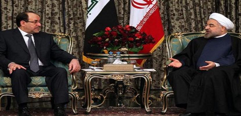 المالكي يبحث بطهران ملفي سوريا والعلاقات الثنائية