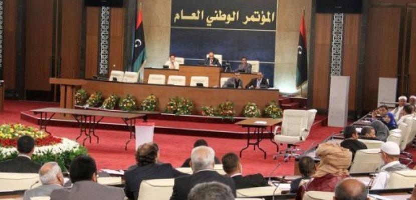 المؤتمر الوطني الليبي يقر خارطة طريق جديدة تنتهي يوليو 2014