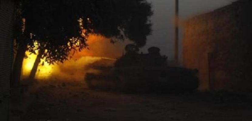 طائرات سورية تقصف بلدة تسيطر عليها المعارضة بقنابل برميلية ومقتل 20