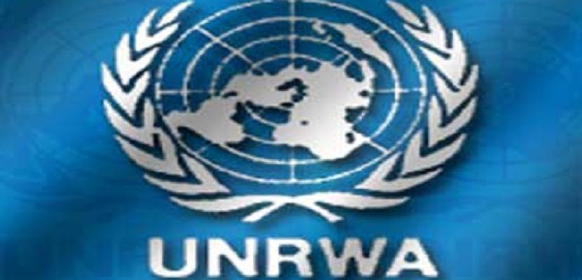 """""""الأونروا"""" تنفى قطع المساعدات عن 60 ألف أسرة بغزة"""
