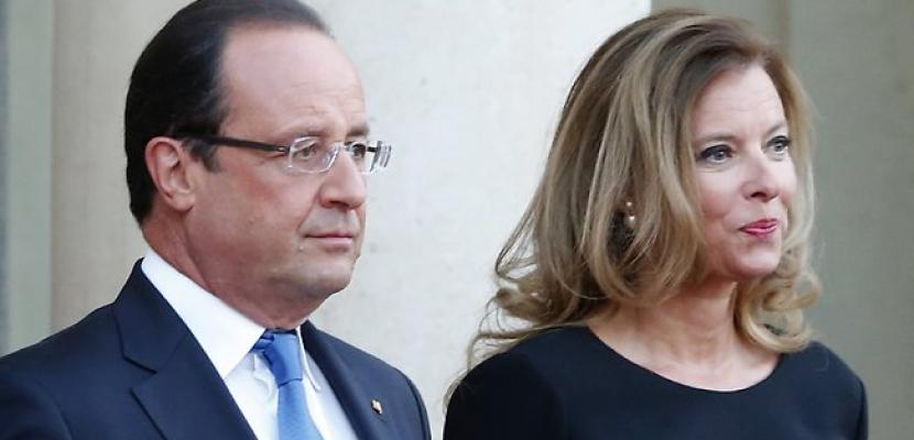 """سيدة فرنسا الأولى فى المستشفى بعد الكشف عن علاقة """"هولاند"""" بممثلة"""