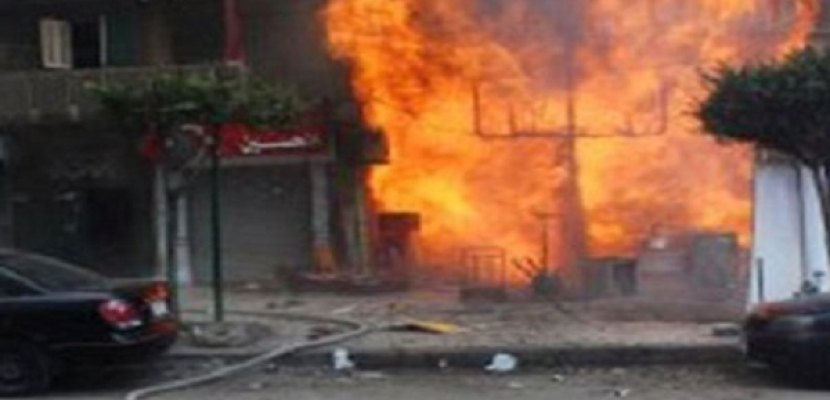 انفجار عبوة بدائية الصنع أثناء تجميعها بإحدى شقق منطقة بولاق الدكرور بالجيزة