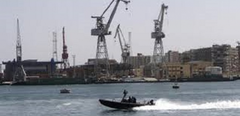 إجراءات أمنية مشددة بالمدخل الجنوبي لقناة السويس