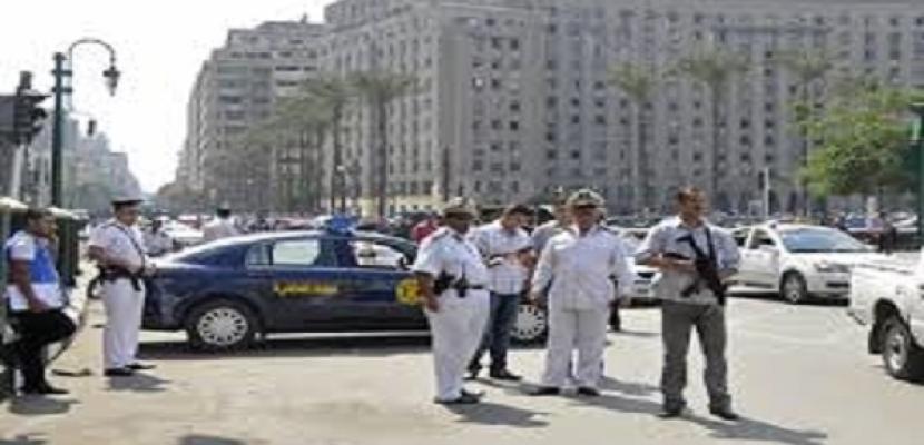 النيابة تعاين موقع انفجار العبوة الناسفة بشارع التحرير في الدقي