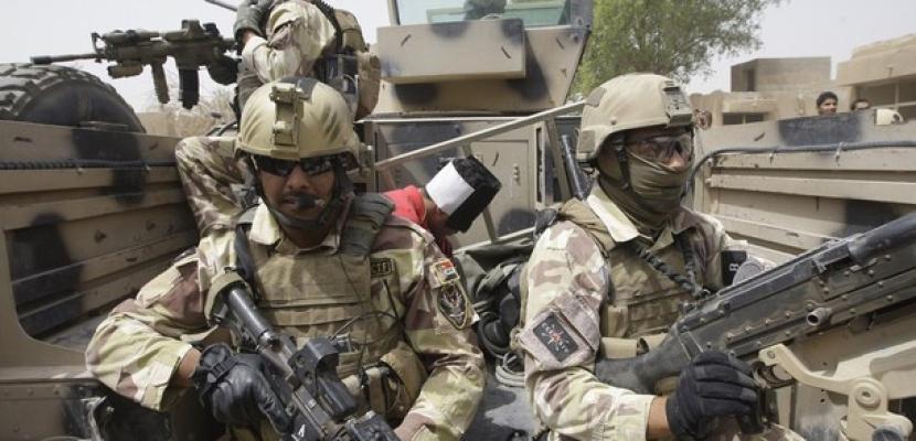 القوات الخاصة العراقية ورجال العشائر يهاجمون متشدددين في الرمادي