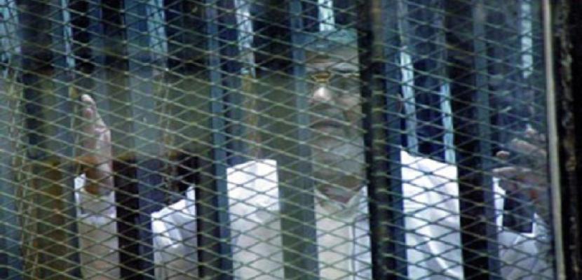 استئناف سماع الشهود في محاكمة مرسي و130 آخرين بقضية اقتحام السجون