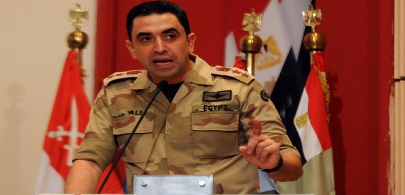 المتحدث العسكري: القبض على 26 من العناصر الارهابية