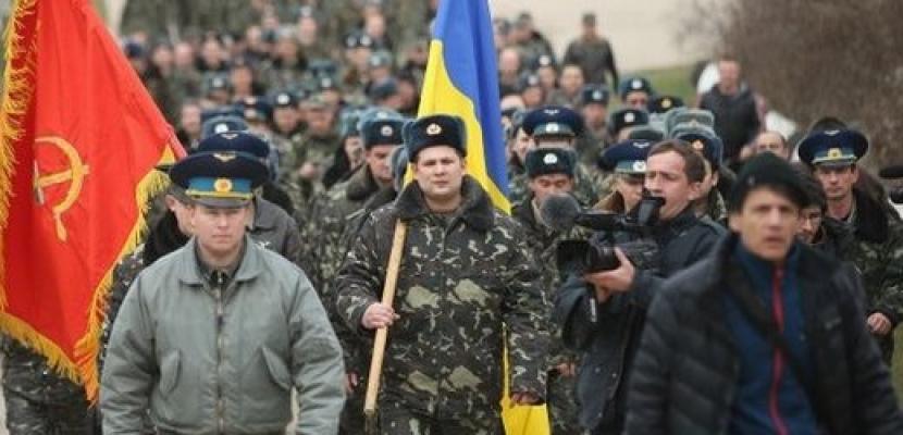 روسيا تأمر بإجلاء جنود أوكرانيين من القرم