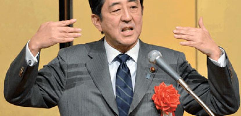 رئيس الوزراء الياباني يعتزم إصدار قانون يجيز «الدفاع الذاتي الجماعي»